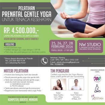 Pelatiha prenatal gentle yoga untuk tenaga kesehatan prenatalyoga prenatalgentleyoga yogahellip