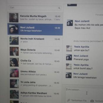 Horotoyohjebule ki ada banyak inbox Hahahbaru nyadar dan baru mbukakhellip