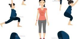 Tips melakukan Prenatal Gentle Yoga di RUMAH
