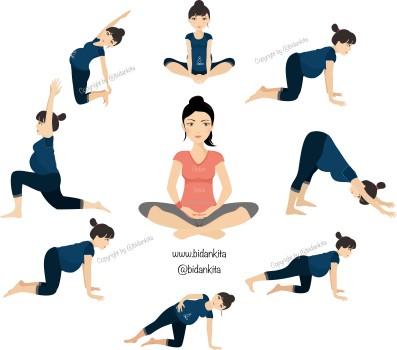yoga pose circle